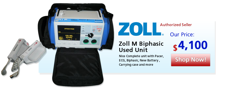 Zoll M Biphasic Used Unit